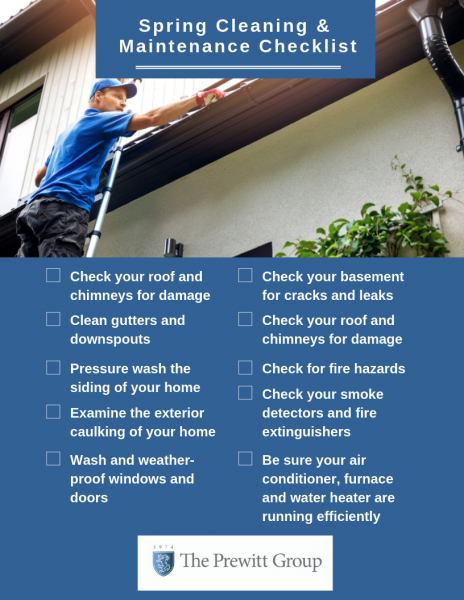 Spring Cleaning and Maintenance Checklist